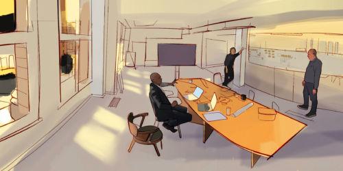 Arrk office illustration 2