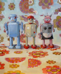 Happy Robots in the Sex Garden